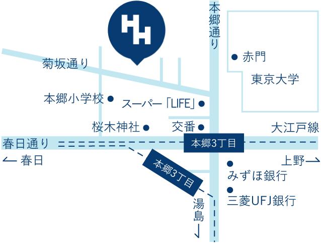 長谷川歯科診療所マップ