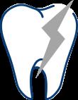 歯根破折イメージ